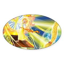 Sunna Norse Sun Goddess Decal