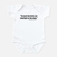 Dienekes: Fight in the shade Infant Bodysuit