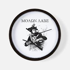Molon Labe Minuteman Wall Clock
