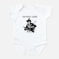 Molon Labe Minuteman Infant Bodysuit