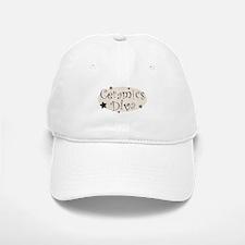"""""""Ceramics Diva"""" [brown] Baseball Baseball Cap"""