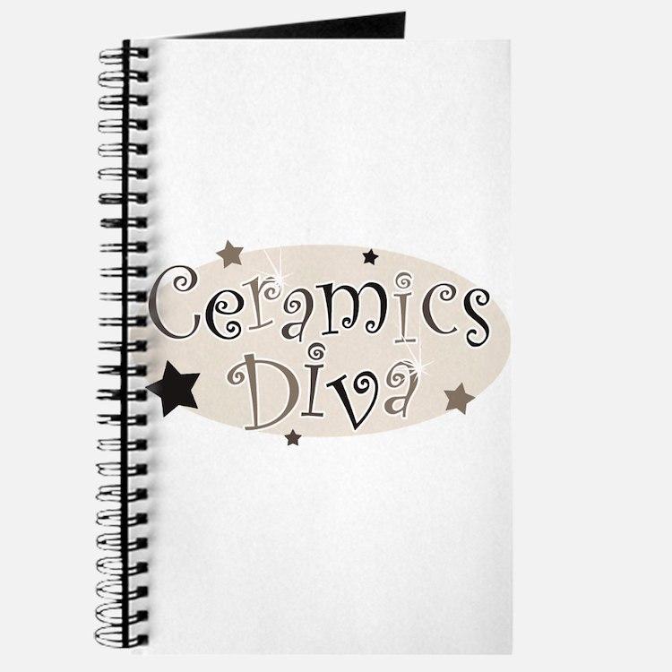 """""""Ceramics Diva"""" [brown] Journal"""