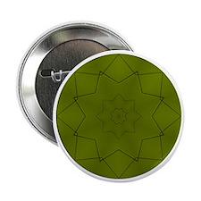 """St. Maarten Green Tile #6 2.25"""" Button"""