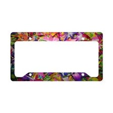 Origami Crane Madness License Plate Holder