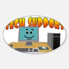 Happy Tech Support Decal
