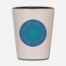 St. Maarten Ocean Swirls Shot Glass