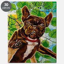 Dog King Mira Slava high Puzzle