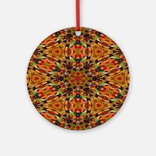 Gummy Bears Mosaic #1 Round Ornament