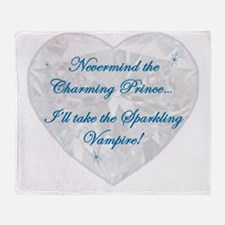Nevermind The Charming Prince Throw Blanket