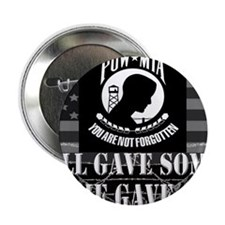 """Pow-Mia All Gave Some Some Gave All 2.25"""" Button"""