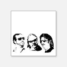 "FOB Sound Company transpare Square Sticker 3"" x 3"""