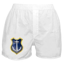 Anchor marine ship Boxer Shorts
