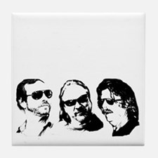 FOB Sound Company transparent logo wi Tile Coaster