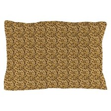 Spotted Leopard Woven Blanket Pillow Case