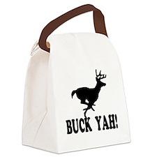 Buck Yah Canvas Lunch Bag