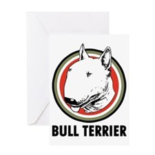 Bull Terrier Greeting Card