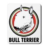 Bull terrier Mouse Pads
