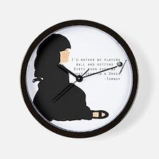 tomboy Wall Clock