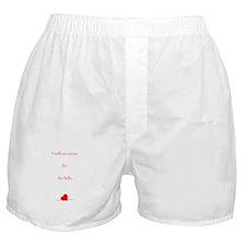 Baby Bump Boxer Shorts