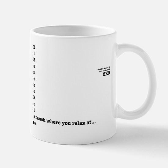 EL Rancho Relaxo Mug