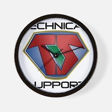 Super Tech Support - lt Wall Clock