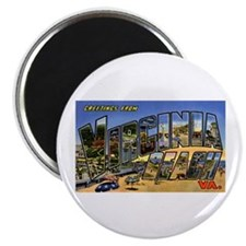 "Virginia Beach Greetings 2.25"" Magnet (10 pack)"