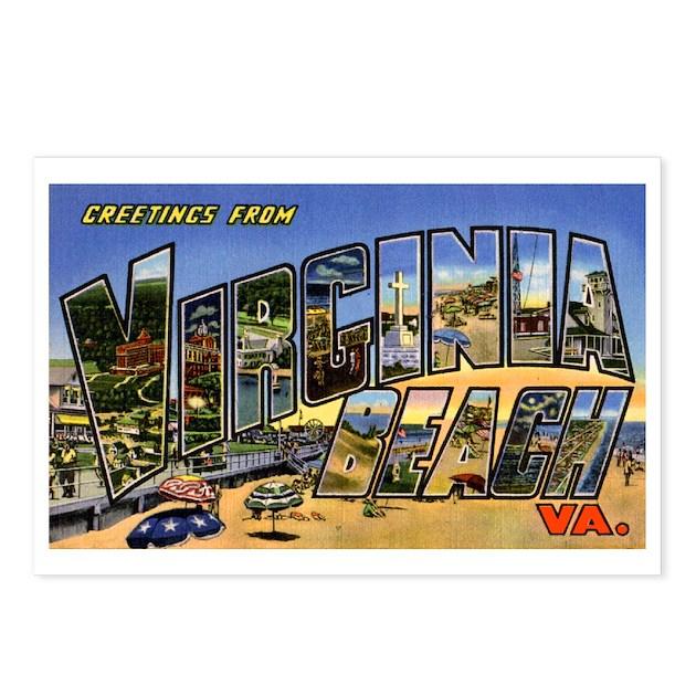 Baby Gifts Virginia Beach : Virginia beach greetings postcards package of by w arts