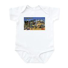 Virginia Beach Greetings Infant Bodysuit