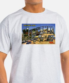 Virginia Beach Greetings (Front) T-Shirt