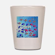 idive Shot Glass