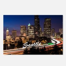 Seattle_10X8_puzzle_Downt Postcards (Package of 8)