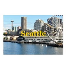Seattle_5x3rect_sticker_S Postcards (Package of 8)