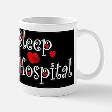 General Hospital heart eat sleepd large Mug
