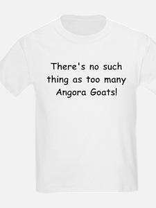 Too many Angora Goats? T-Shirt