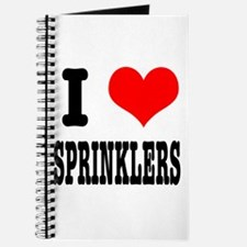 I Heart (Love) Sprinklers Journal