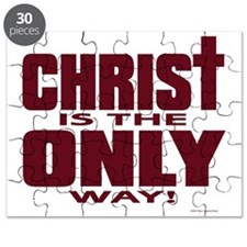 Christ Is the Only Way Puzzle