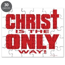 Christ is the Only way Natl Red Puzzle