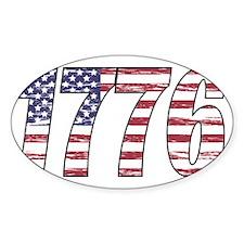 1776 Flag Decal