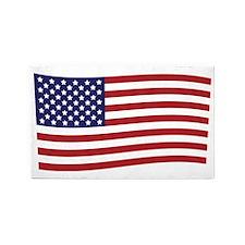 Waving American Flag 3'x5' Area Rug