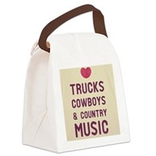 country Canvas Lunch Bag