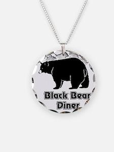 Black Bear Logo Necklace