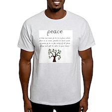 Peace Mantra T-Shirt