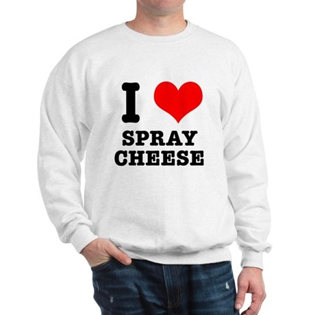 I Heart (Love) Spray Cheese Sweatshirt