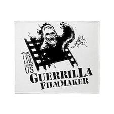Guerrilla Filmmaker Throw Blanket