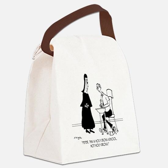 Holy Gross School Canvas Lunch Bag