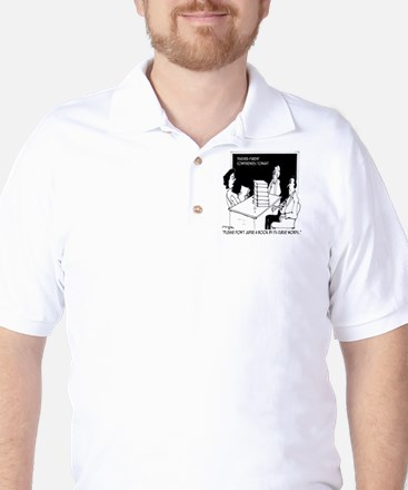 Dont Judge a Book By Its Curse Words Golf Shirt