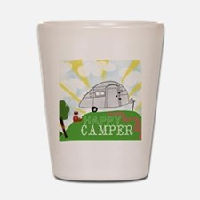 Happy Camper Shot Glass