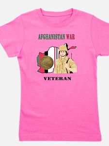 Afghanistan War Veteran Girl's Tee