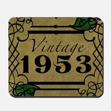 1953 Vintage Framed Mousepad