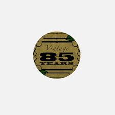 Vintage 85th Birthday (Gold) Mini Button